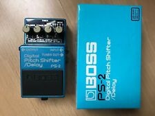 Boss PS-2 Digital Pitch Shifter / Delay (Japan) With Box