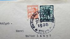 1938 nazi stamps germany-Österreich- walter lampl - VERY RARE