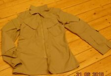 BEIGE TRU-SPEC MILITARY PROFESSIONAL OUTDOOR HUNTING SHIRT JACKET SMALL LONG
