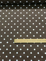 10mm Lifestyle Dotty Spots Polka Dots 100% Cotton Curtain Fabric Top Quality