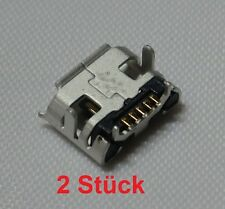 2x Micro USB Buchse 5Pin Ladebuchse Connector Tablet HTC BlackBerry Huawei 05