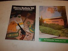 2 Sierra Bullets '85 Catalogs Gifts And Accessories Bulletsmiths