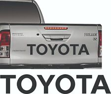 Sticker for Toyota sticker Hilux Tailgate rear door decal pick up D4D 2.5 Diesel