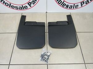 JEEP WRANGLER (JL) GLADIATOR JT Molded Front Splash Guards NEW OEM MOPAR
