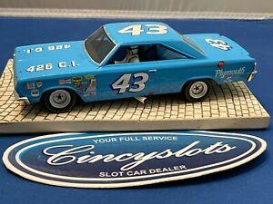 Monogram 67 #43 Petty Plymouth GTX Nascar Mint 1/32 Slot Car