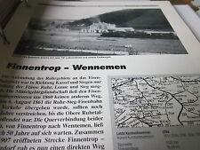 Neben - Schmalspurbahnen 8 Finnentrop Wennemen 14S