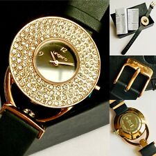Brand New Boxed Ladies Ungaro Designer Watch, Leather Strap & Original Documents