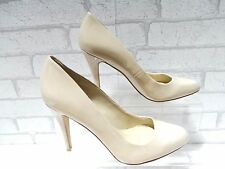 CLEARANCE Ladies ALDO Nude Patent Leather Court Shoes UK 8 EURO 41