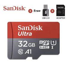 Tarjeta Micro SD 32gb Clase 10 + USB + SD Adapter Adaptador