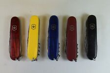 Lot of 5 - Victorinox/Wenger Swiss Army Knives - Used - See Description