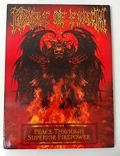 Video DVD - CRADLE OF FILTH - Peace Through Superior Firepower - LIKE NEW (LN)