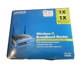 Linksys WRT54G-TM 54 Mbps 4-Port 10/100 Wireless G Router (WRT54GTM) Qty. 2