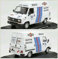 # 1/43 FIAT DUCATO ASSISTENZA LANCIA MARTINI RALLY DIORAMA CODE3 MIB #