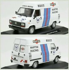 # 1/43 FIAT DUCATO ASSISTENZA LANCIA MARTINI RALLY DIORAMA n/spark-hpi-amr MIB #