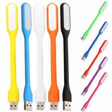 2xBendable LED Portable Mini USB LED Light Lamp  For PC Laptop Power Bank UK