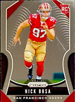 🔥 2019 Nick Boss RC Panini Prizm BASE #304 Centered! CLEAN San Francisco 49er's