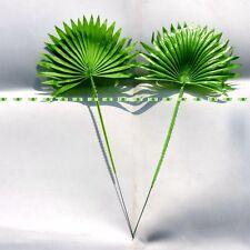40cm 20pcs  Lifelike Artificial Palm Coconut Plant Leaf Branch Home Decor Green