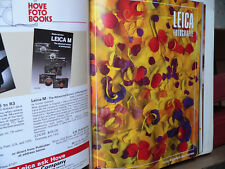 Lot of 47 Leica Fotografie Magazine English Edition in Deluxe Binders 1983 -1988