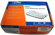 CNet 8-Port FAST ETHERNET SWITCH Model CSH-800 Computer Network Devices Ports-A1