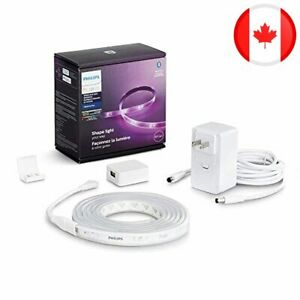 Philips Hue Lightstrip Plus V4 1m ext Colour Bluetooth-Enabled