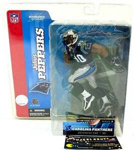 NFL Debut Carolina Panthers Julius Peppers Mcfarlene Figure Series 7 - NEW!