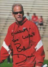 Coach Bob Davie Signed 5x7 Photo New Mexico Notre Dame