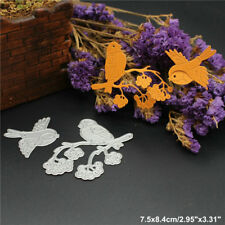 Two Birds Metal Cutting Dies Stencil DIY Scrapbooking Album Paper Card Embossing