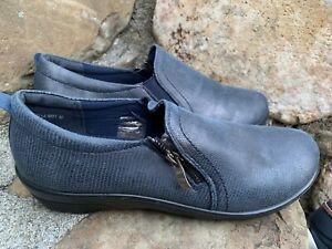New Flexus Shoes Ella By Spring Step Blue Size 40 ECU Casual Dress