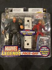 Toy Biz Marvel Legends Face Off Kingpin & Daredevil  Variant 6?Figure Set