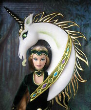 Beautiful Bob Mackie Lady of the Unicorns Barbie NRFB limited edition of 2000