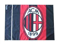 Bandiera Milan originale nuovo logo  ufficiale 70 x 40 cm rossoneri AC Milan