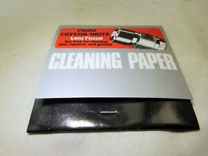 Prinz Crystal-Brite Lens Cleaning Tissue Paper Wipes vintage