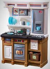 Step2 Lifestyle Custom Kitchen Playset Game Play Child Children Kid Fun Joy New