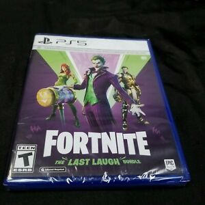 Fortnite: The Last Laugh Bundle (Sony PlayStation PS5, 2020) Brand New