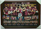 Queensland State of Origin 2013 Maroon Magic Limited Edition Print Framed NRL