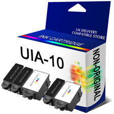 5 COMPATIBLE ADVENT 10XL INK CARTRIDGES ABK10 & ACLR10 FOR A10 AW10 AWP10
