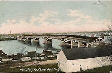 Camel Back Bridge Harrisburg PA Postcard 1906