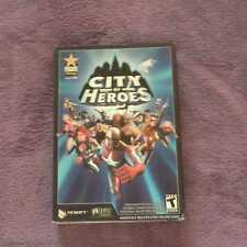City of Heroes PC CD ROM ONLINE GAME COMPLETE NEW