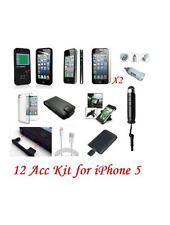 12 x Bundle Premium Accessoire Kit Pour iPhone 5 16 go 32 go 64 go mobile & PDA acc.