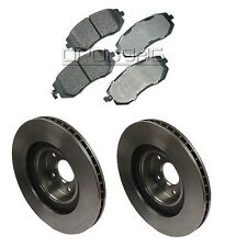 Front Kit Brembo Rotors Discs Akebono Pads Fits Subaru Outback 3.0 H6 DOHC 02-05