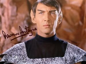Lawrence Montaigne - Star Trek Classic Series Romulan - hand signed photo