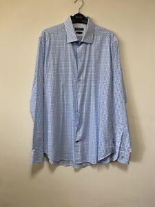 Mens Tommy Hilfiger Checked Shirt. - Collar 16 1/2