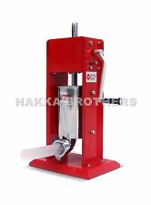 Hakka 7Lb/3L Sausage Stuffer 2-Speed Stainless Steel Vertical Sausage Maker CV-3
