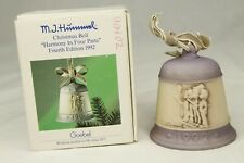 Mj Hummel Christmas Bell Harmony In Four Parts 4th Edition 1992