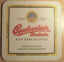 Budweiser Budvar Bierdeckel