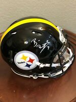 Ben Roethlisberger Pitt Steelers Signed Autograph Full Size Authentic Helmet BAS