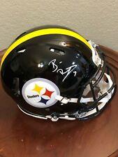 Ben Roethlisberger Pitt Steelers Signed Autograph Full Size Authentic Helmet BAS