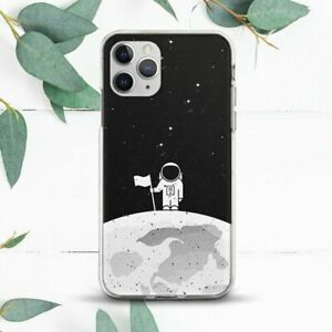 Astronaut On The Moon Space Stars Case For iPhone 7 8 X SE 11 12 13 Pro Max XR