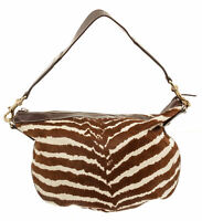 Gucci Handbag Bag Purse Zebra Pony Fur Hair Hobo Leather Strap Shoulder $3100