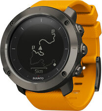 Suunto Traverse Amber Hiking Trekking Integrated GPS Watch Maps Plan Routes